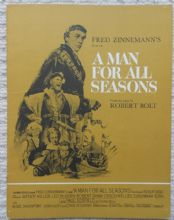 Man For All Seasons, Original Pressbook, Orson Welles, Shepperton Studios, '66